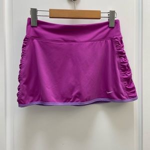 Nike skort purple size small